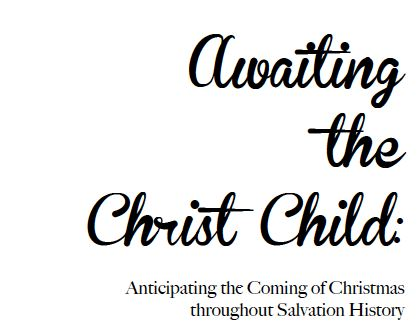Awaiting the Christ Child splash1